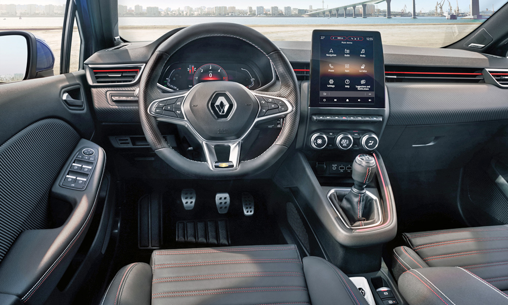 Renault has revealed its new Clio's revamped interior.