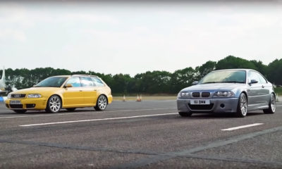 BMW M3 CSL vs. Audi RS4 Avant