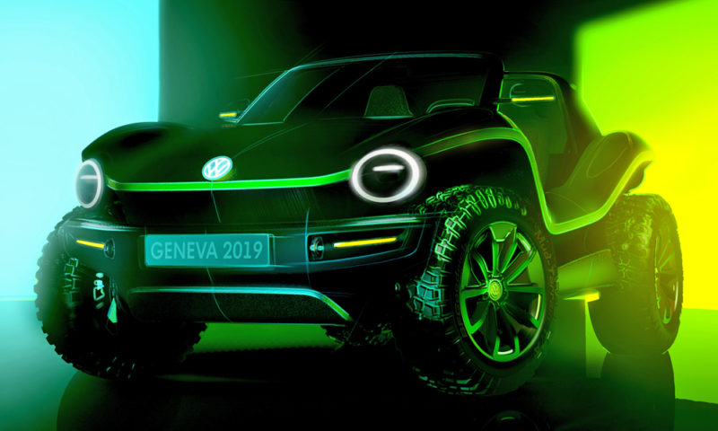 Volkswagen brings back the dune buggy as an EV
