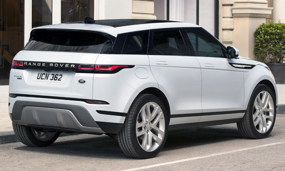 Flush door handles (as used by the Velar) feature.