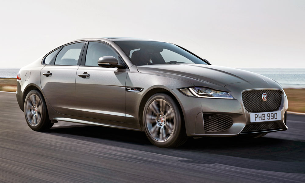Jaguar has revealed the new XF Chequered Flag edition.