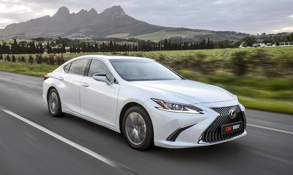 The new Lexus ES250 is impressively comfortable and refined.