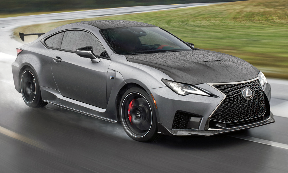 Meet the new Lexus RC F Track Edition...