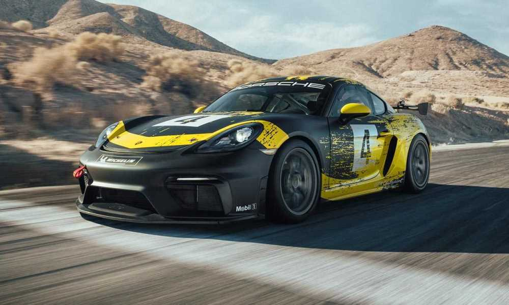 The GT4 Clubsport sees the return of the flat-six.