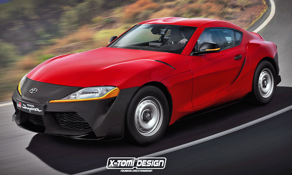 Who Buys Used Cars >> New Toyota Supra rendered in base spec, as cabrio and more ...