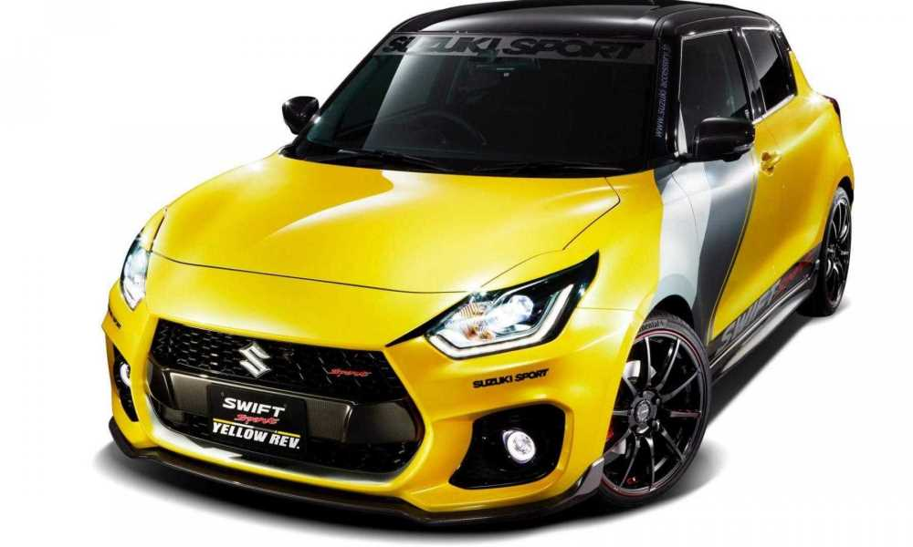 This Swift Sport certainly looks the part.