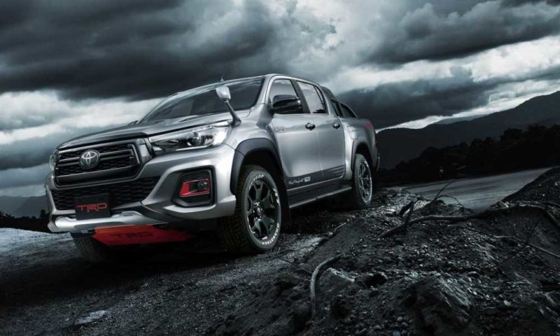 Toyota TRD Hilux Black Rally edition front
