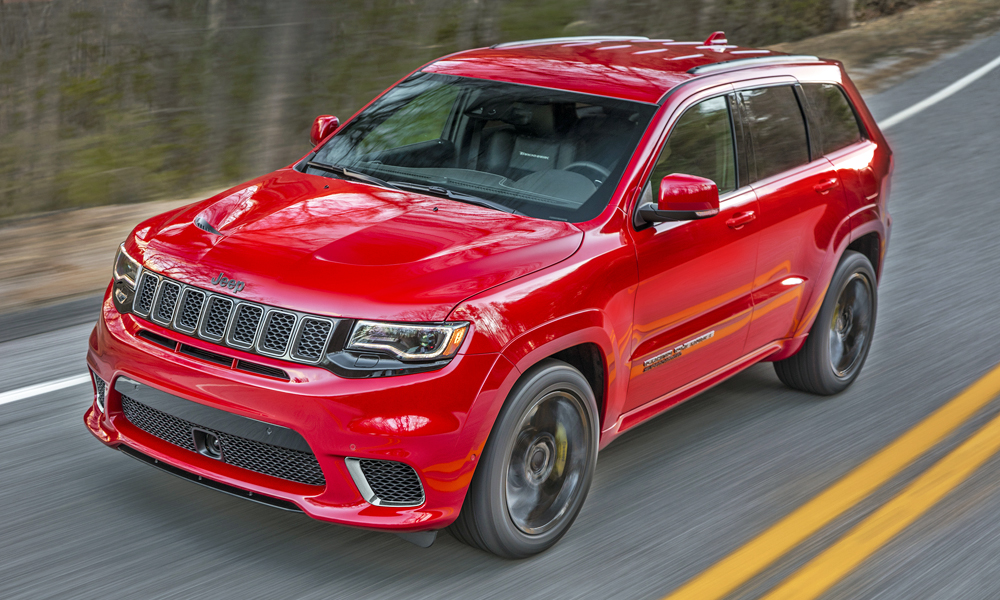 The Jeep Grand Cherokee Trackhawk has finally arrived in South Africa.