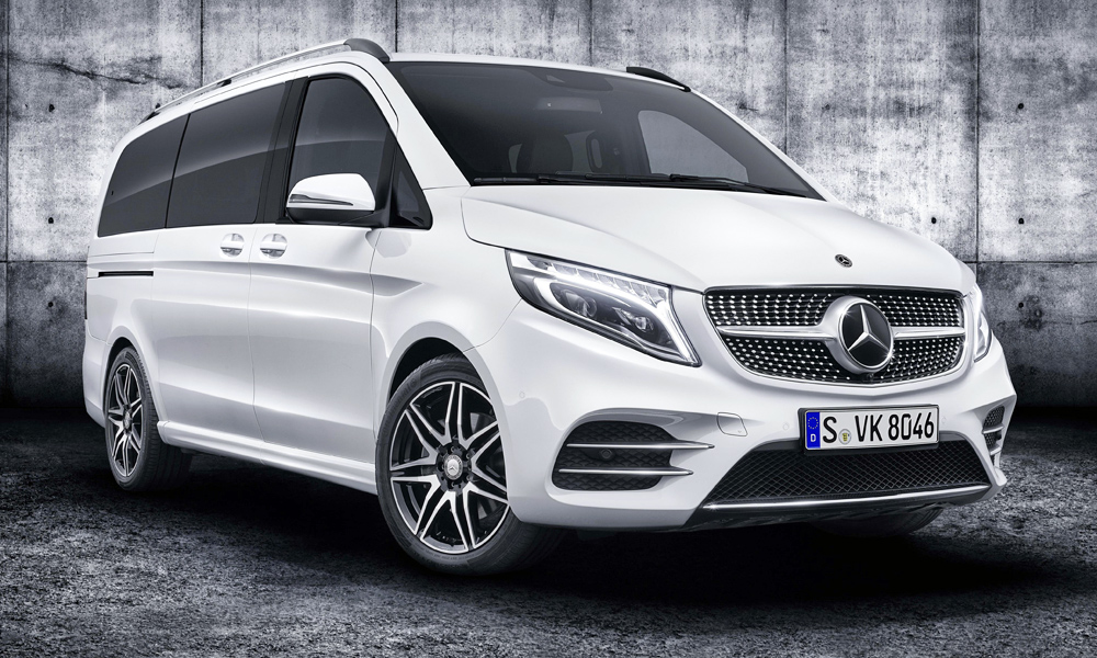 Meet the facelifted Mercedes-Benz V-Class (AMG Line pictured).