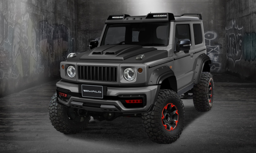 Wa/d has turn the Suzuki Jimny into a head-turning off-roader.