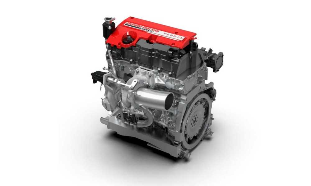 The K20C Honda engine has been pushed to 418 kW.