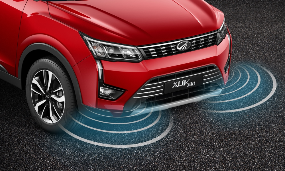 Parking sensors have been set to pick up objects only in very close proximity.