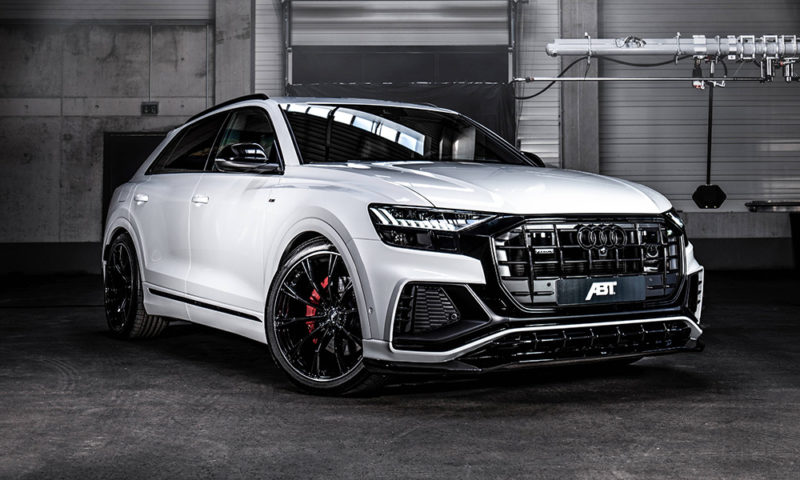 ABT's Q8 handed a new aerodynamic package.