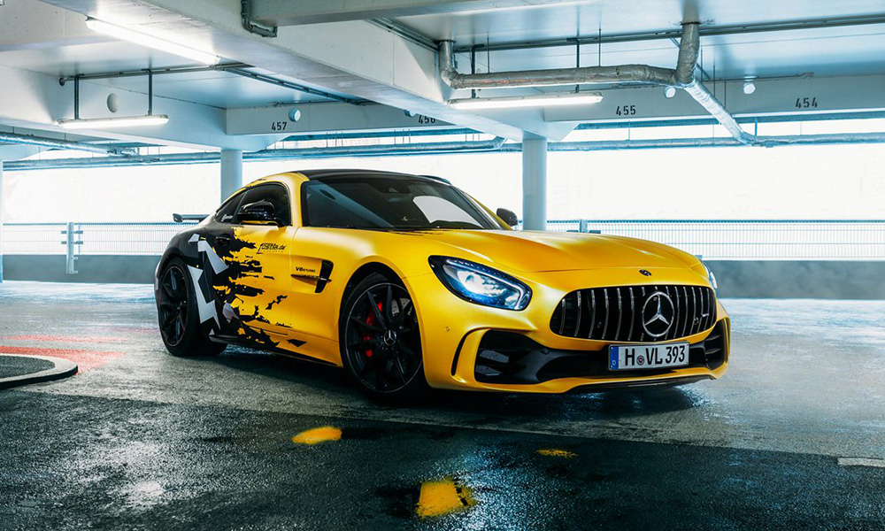 German tuner Fostla has unveiled its uprated AMG GT R.