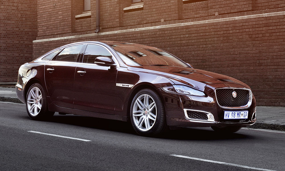 The special edition XJ50 has (finally) touched down in SA.