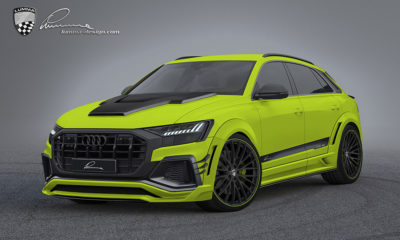 Lumma Design previews its striking bodykit for the Q8