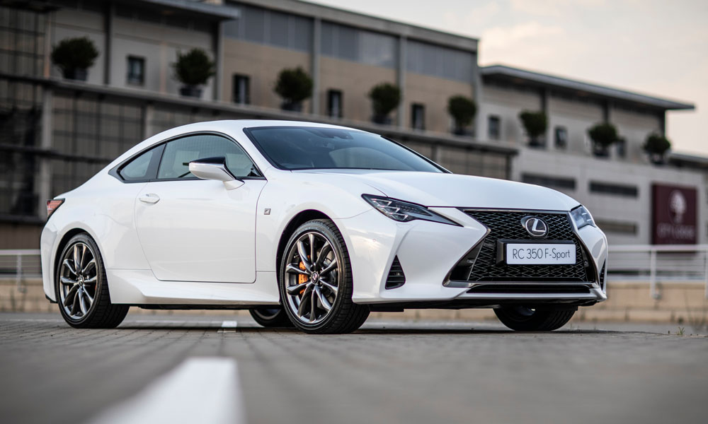 We drive the updated Lexus RC F Sport.
