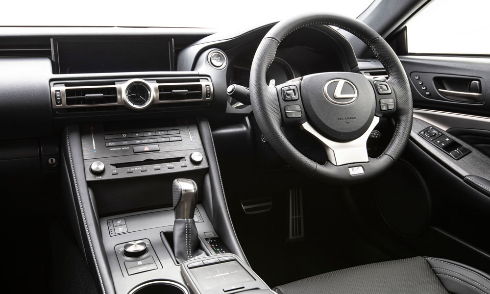Beautifully crafted interior.