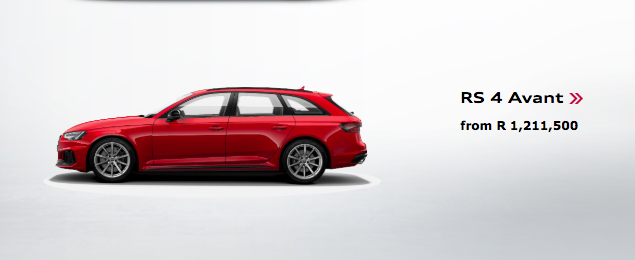 Here's how much the Audi RS4 Avant will cost you in SA…