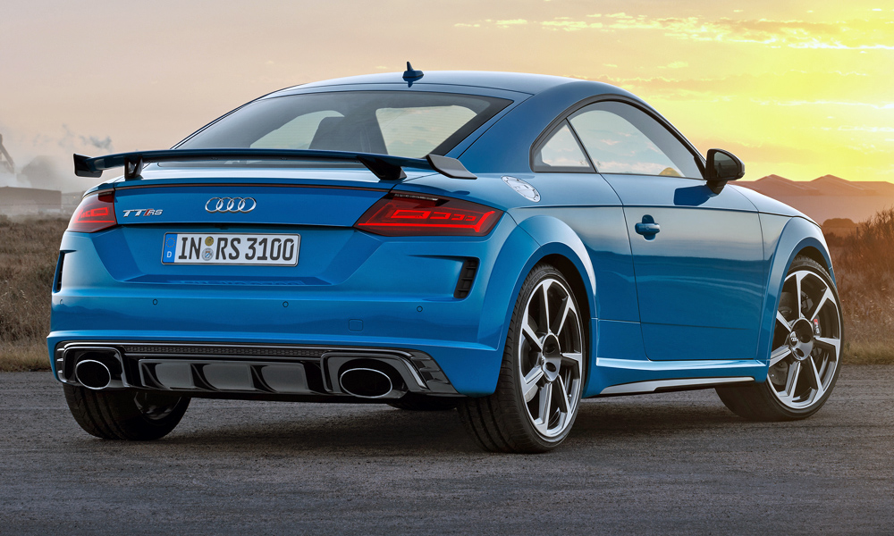 Seen here wearing the new Turbo blue exterior hue.