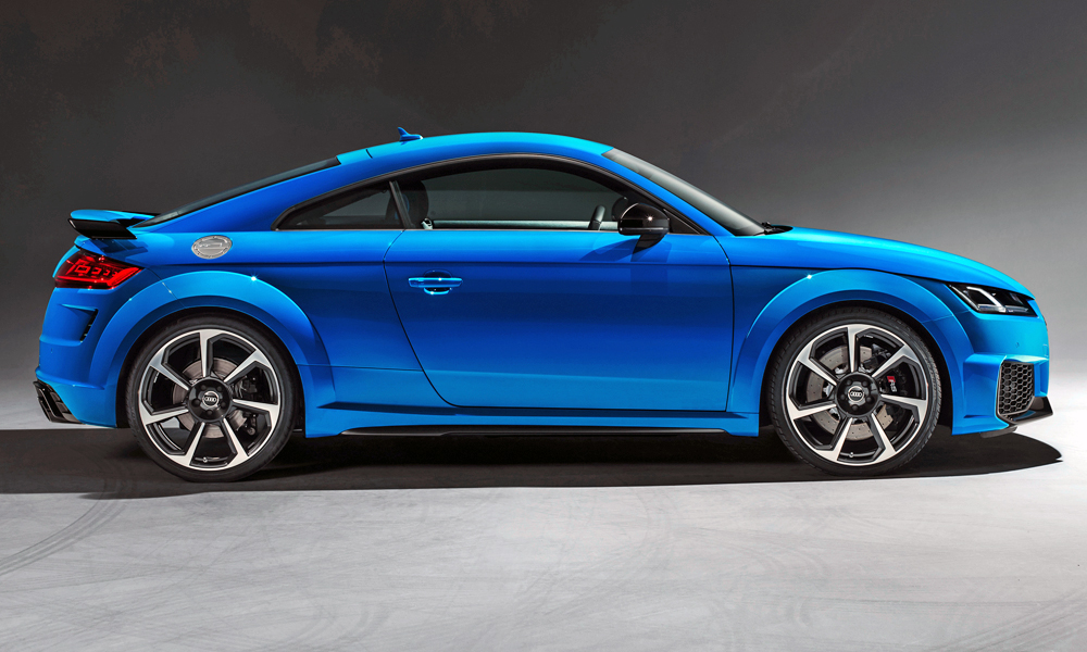 Refreshed Audi TT RS handed 'more masculine' styling…
