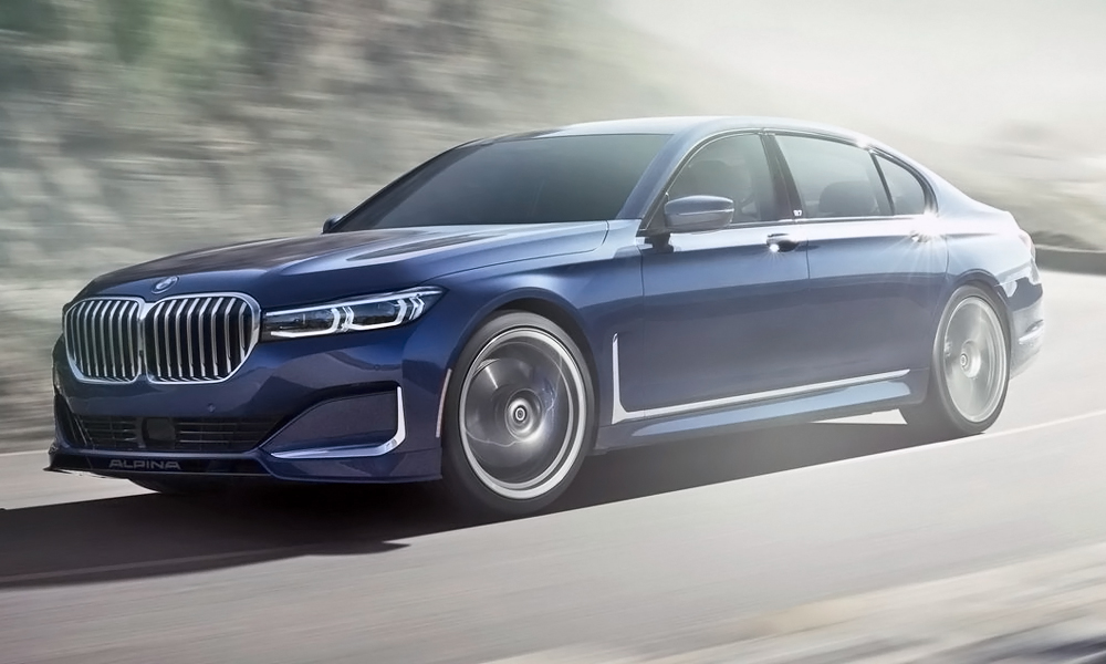 The updated Alpina B7 has been revealed.
