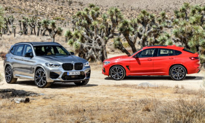 BMW X3 M Competition and X4 M Competition