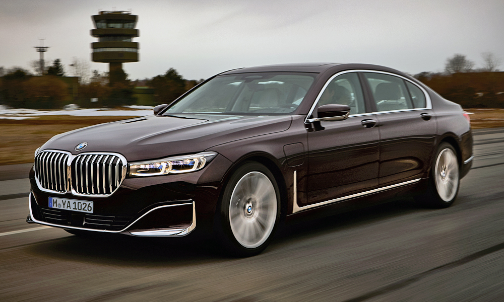 BMW has revealed more of its new 745Le variant.