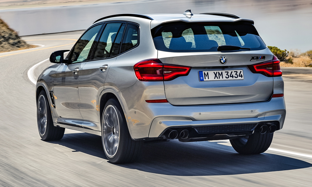 An M Sport exhaust system is also included.