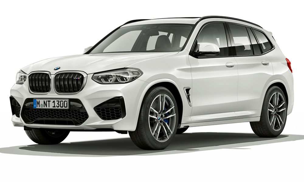This is the X3 M in standard (i.e. non-Competition) form.