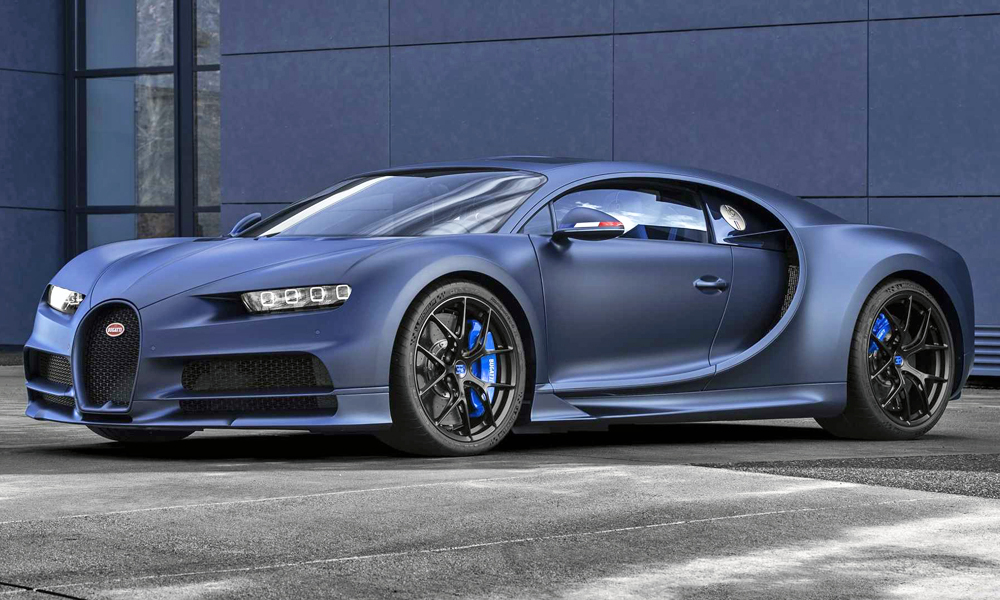 The special Chiron Sport '110 ans Bugatti' has been revealed.
