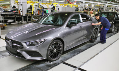 Mercedes-Benz CLA production