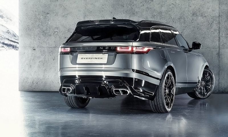 Overfinch has revealed its latest bodykit for the Range Rover Velar.
