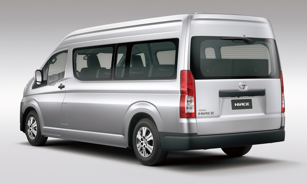 New Toyota HiAce/Quantum revealed (with Hilux power ...