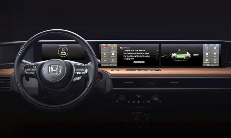 Here's Your First Look At The Honda 'Urban EV' Interior