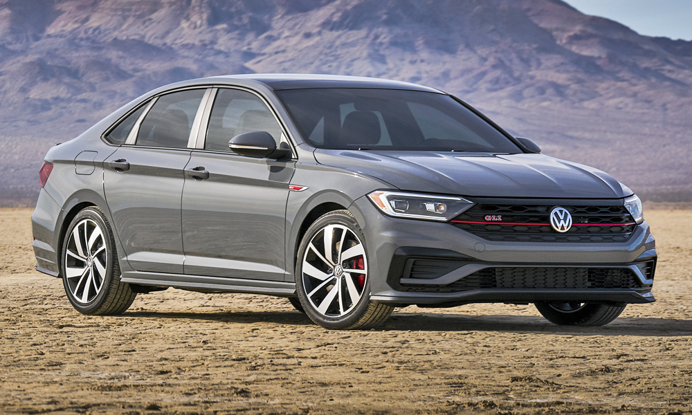 Volkswagen has revealed its new Jetta GLI in the US.