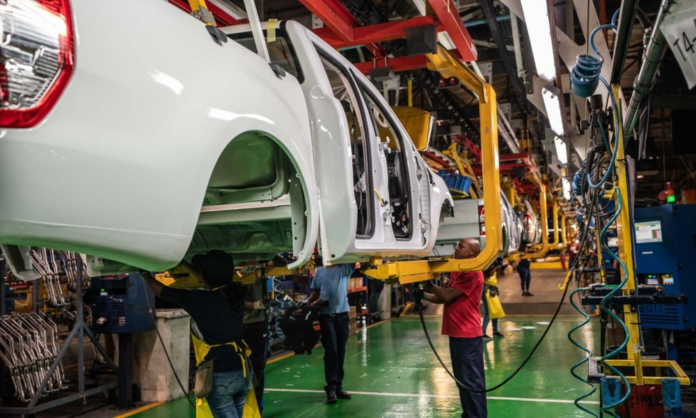 Production takes place in Pretoria, but engines are again built in PE.