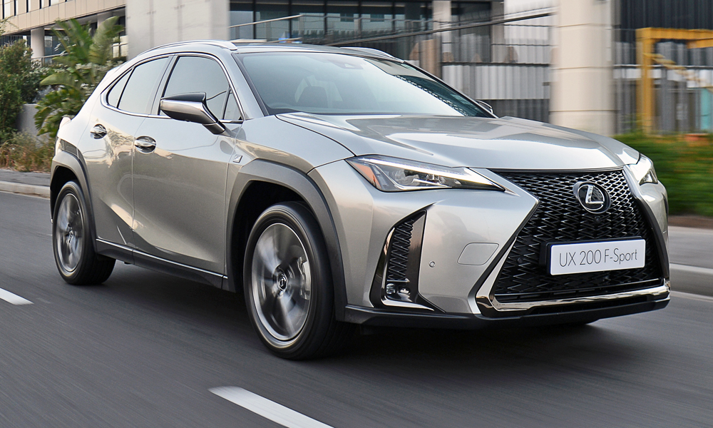 The new Lexus UX has arrived in South Africa.