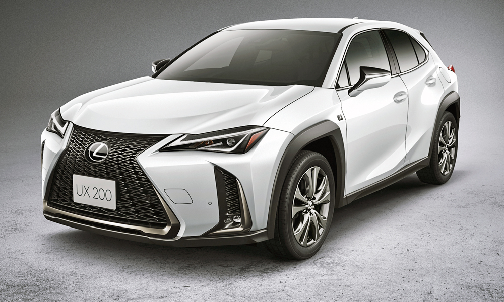The new Lexus UX (here in F Sport trim) is set to launch in South Africa.