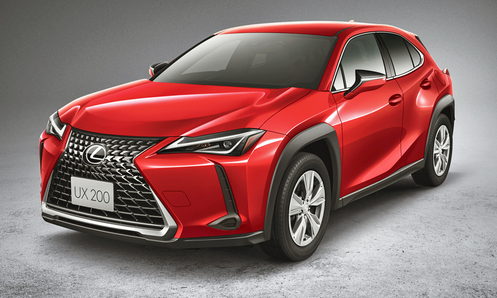 The UX is the smallest crossover from Lexus yet.