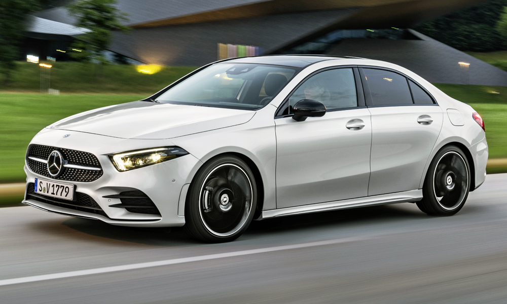 The new Mercedes-Benz A-Class Sedan is expected in SA in the second quarter.