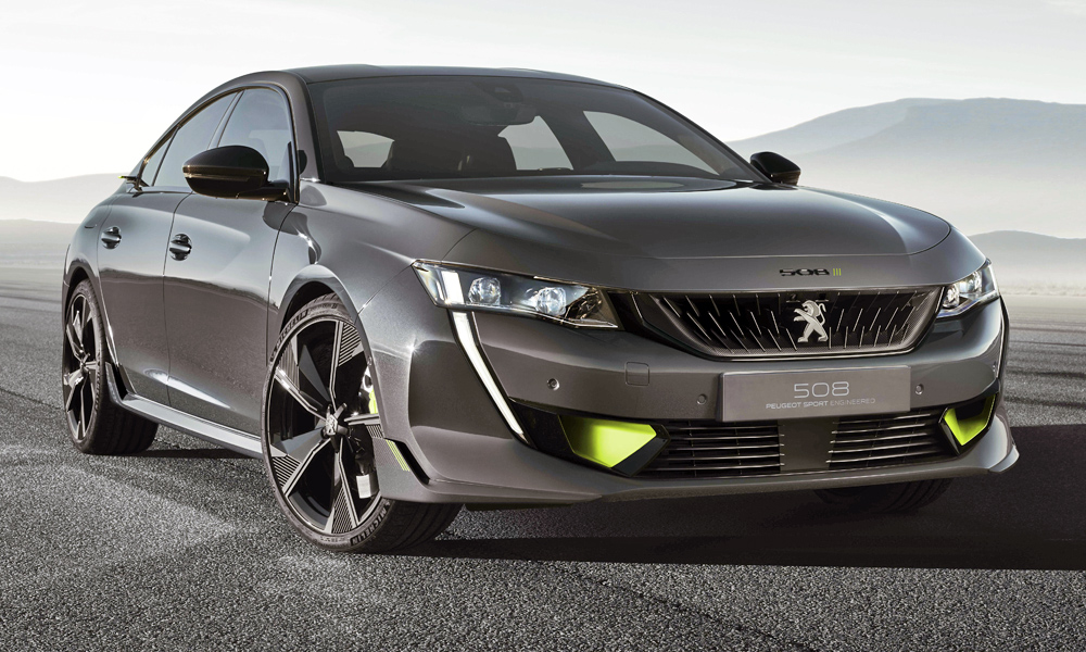 say hello to the peugeot 508 sport engineered concept car magazine. Black Bedroom Furniture Sets. Home Design Ideas