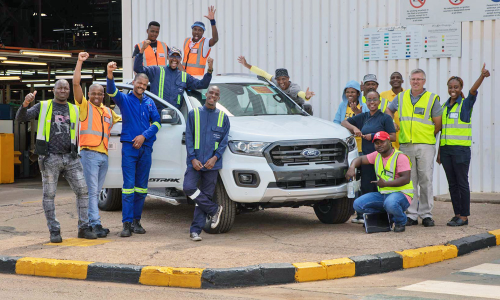 Ford SA has officially commenced production of the updated Ranger.
