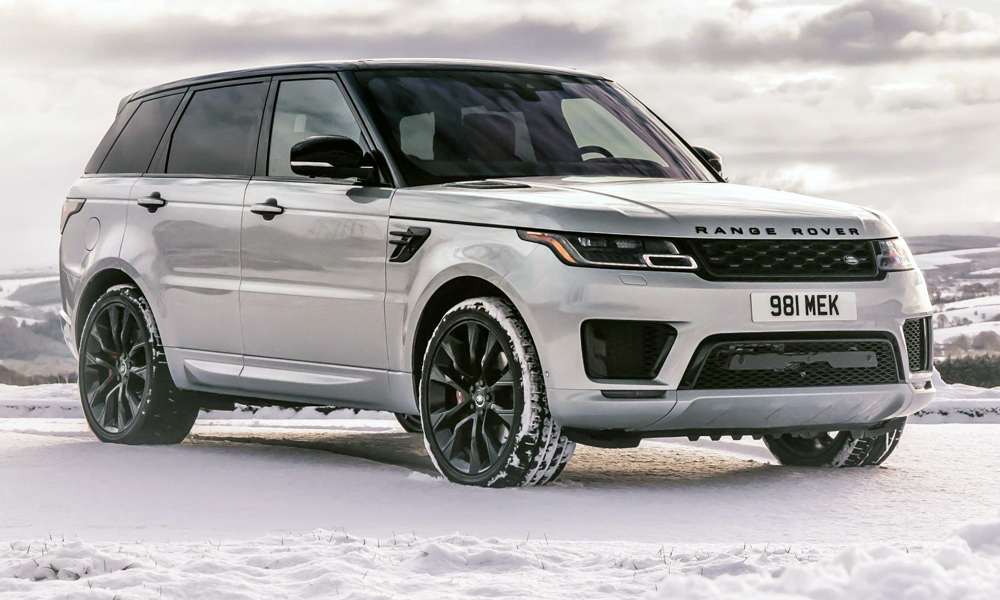 A new Range Rover Sport HST variant has been unveiled.