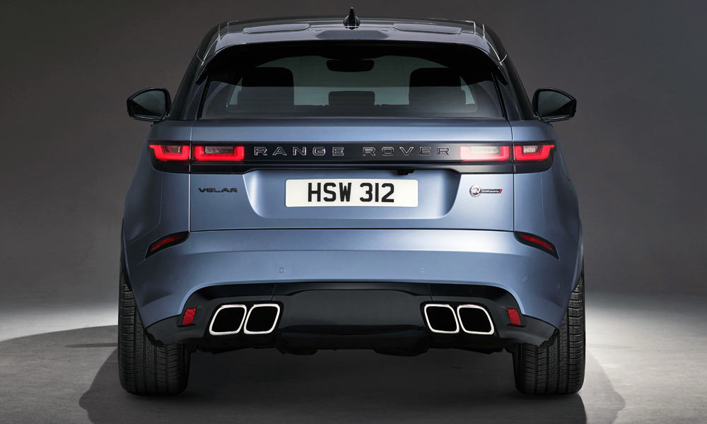 The new Range Rover Velar SVAutobiography Dynamic Edition has been revealed.