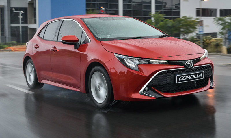 Toyota Corolla Hatch front view