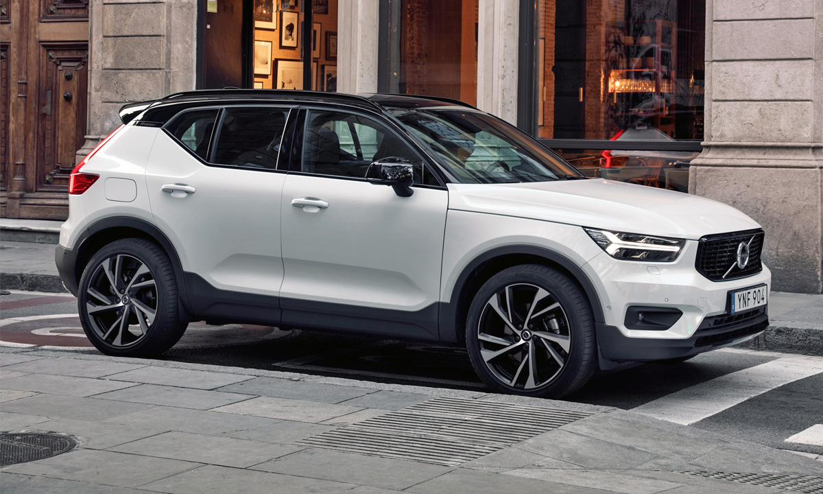 Now three years into production, the XC40 still looks fresh.