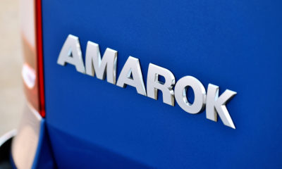 Volkswagen Amarok badge