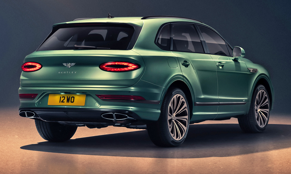 Bentley has unveiled its facelifted Bentayga.