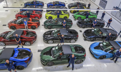 Final 18 examples of the BMW i8